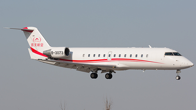 B-3073 - Bombardier CL-600-2B19 Challenger 850 - Private