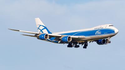 A picture of VQBGZ - Boeing 7478HV(F) - AirBridgeCargo Airlines - © Matteo Lamberts