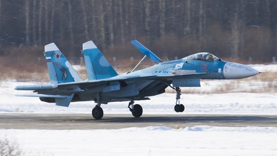 61 - Sukhoi Su-33 Flanker - Russia - Navy