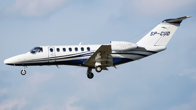 SP-CUD - Cessna 525 Citation CJ3 - Private