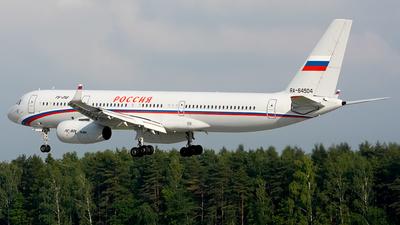 A picture of RA64504 - Tupolev TU214 - Rossiya  Special Flight Squadron - © Fedor Kabanov