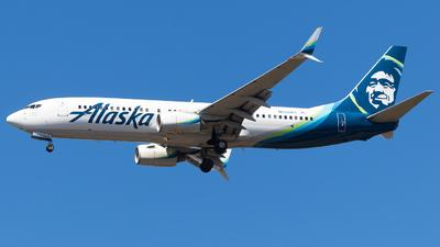 N558AS - Boeing 737-890 - Alaska Airlines