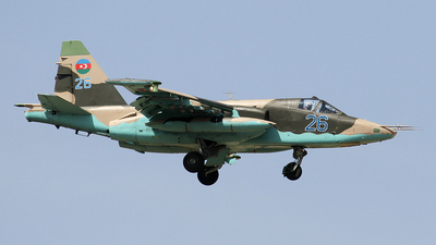 26 - Sukhoi Su-25BM Frogfoot - Azerbaijan - Air Force