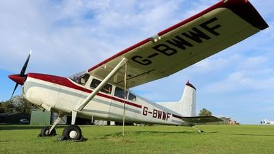 A picture of GBWWF - Cessna 185A Skywagon - [1850240] - © David Cook