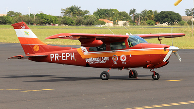 PR-EPH - Cessna 210N Centurion II - Brazil - Military Firefighters