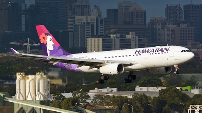 N389HA - Airbus A330-243 - Hawaiian Airlines