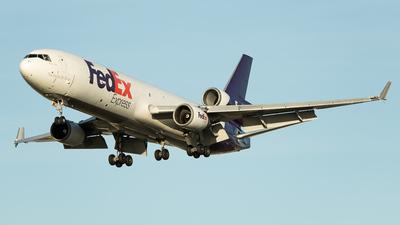 N606FE - McDonnell Douglas MD-11(F) - FedEx
