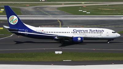 TC-CTA - Boeing 737-86N - KTHY Kibris Türk Hava Yollari