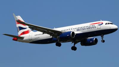 G-EUYR - Airbus A320-232 - British Airways