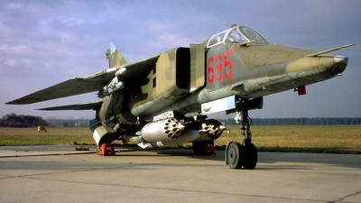 695 - Mikoyan-Gurevich MiG-23BN Flogger H - German Democratic Republic - Air Force