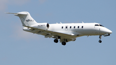 N541XJ - Bombardier BD-100-1A10 Challenger 300 - XOJet