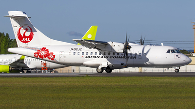 JA02JC - ATR 42-600 - Japan Air Commuter (JAC)