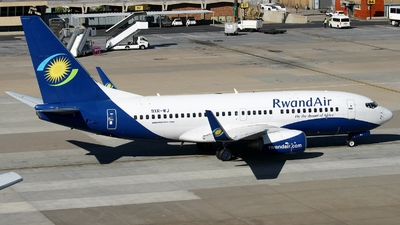 9XR-WJ - Boeing 737-7K5 - RwandAir