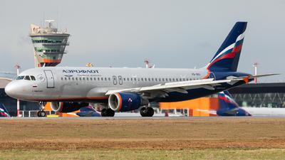 A picture of VQBIU - Airbus A320214 - Aeroflot - © Svyatoslav