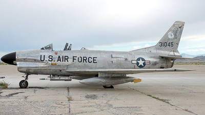 53-1045 - North American F-86L Sabre - United States - US Air Force (USAF)