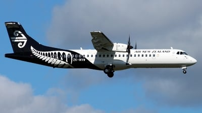 ZK-MVW - ATR 72-212A(600) - Air New Zealand Link (Mount Cook Airline)