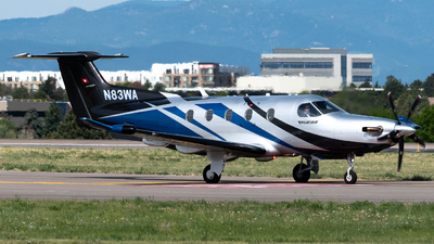 N83WA - Pilatus PC-12/47E - Private