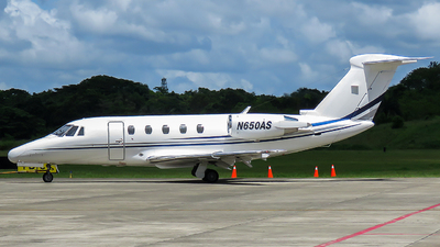 N650AS - Cessna 650 Citation III - Private