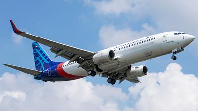 PK-CMH - Boeing 737-8Q8 - Sriwijaya Air