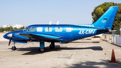 4X-CMV - Piper PA-31-350 Chieftain - AYA Aviation