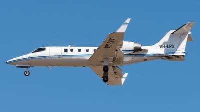 VH-LPX - Bombardier Learjet 31A - Private