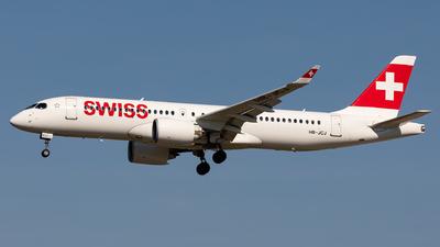 A picture of HBJCJ - Airbus A220300 - Swiss - © Sebastian Sowa
