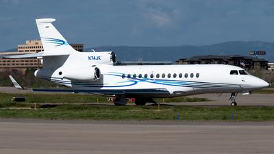 N74JK - Dassault Falcon 7X - Private