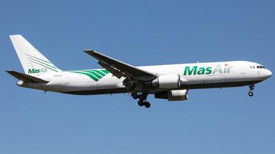 A picture of N363CM - Boeing 767338(ER)(BDSF) - MasAir Cargo Airline - © Oliver Sänger