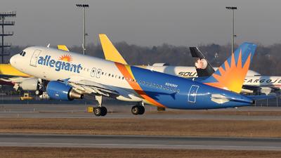 N240NV - Airbus A320-214 - Allegiant Air