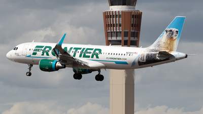 A picture of N236FR - Airbus A320214 - Frontier Airlines - © Josh Akbar