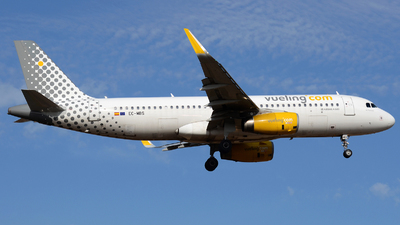 EC-MBS - Airbus A320-232 - Vueling Airlines