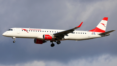 A picture of OELWI - Embraer E195LR - Austrian Airlines - © Daniel Klein