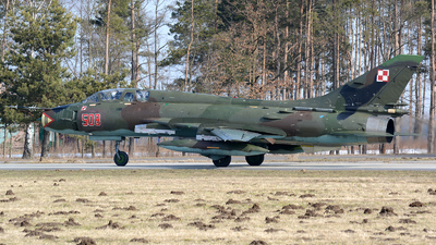 508 - Sukhoi Su-22UM Fitter - Poland - Air Force