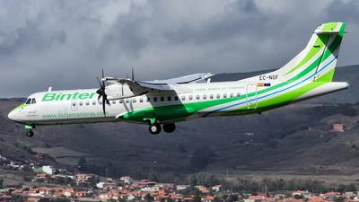 A picture of ECNGF - ATR 72600 - Binter Canarias - © Alejandro Alvarez