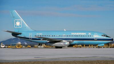 OY-MBV - Boeing 737-2L9(Adv) - Maersk Air