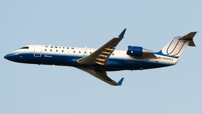 N984CA - Bombardier CRJ-100ER - United Express (SkyWest Airlines)