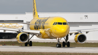A picture of N602NK - Airbus A320232 - Spirit Airlines - © Mark Lawrence