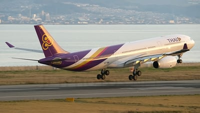 HS-TBB - Airbus A330-343 - Thai Airways International