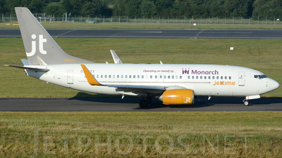 OY-JTY - Boeing 737-7Q8 - Monarch Airlines (Jettime)