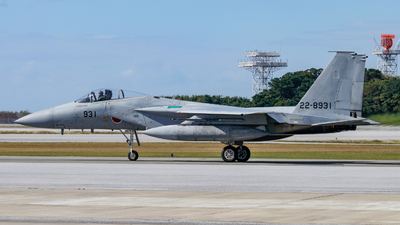 22-8931 - McDonnell Douglas F-15J Eagle - Japan - Air Self Defence Force (JASDF)
