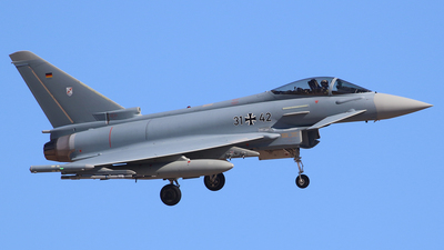 31-42 - Eurofighter Typhoon EF2000 - Germany - Air Force