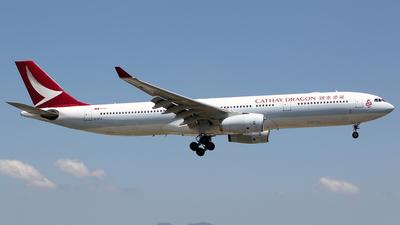 B-HLG - Airbus A330-342 - Cathay Dragon