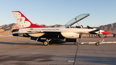 86-0039 - General Dynamics F-16D Fighting Falcon - United States - US Air Force (USAF)