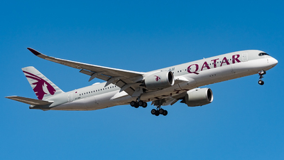 A7-AMH - Airbus A350-941 - Qatar Airways