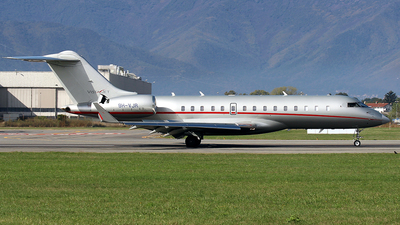 A picture of 9HVJR - Bombardier Global 6000 - VistaJet - © La Roche Spotters