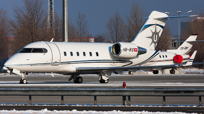 HB-IKS - Bombardier CL-600-2B16 Challenger 601-3A - Private