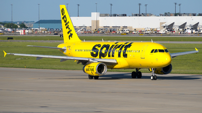 A picture of N603NK - Airbus A320232 - Spirit Airlines - © Davis Dore