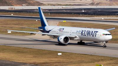 9K-AOM - Boeing 777-369ER - Kuwait Airways