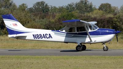 N884CA - Cessna 172N Skyhawk II - Aero Club - Coleman