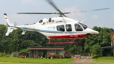 PK-CAW - Bell 429 Global Ranger - Balai Besar Kalibrasi Fasilitas Penerbangan